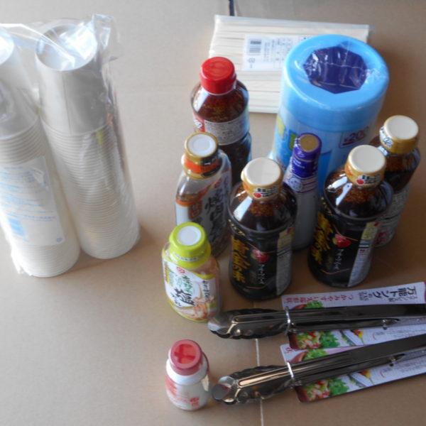 アップガレージ長野店 好例の海鮮&肉食いまくり企画 猛暑の中準備中の巻き