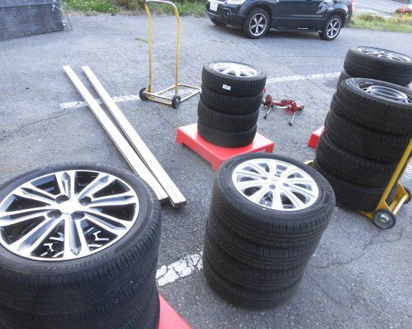 アップガレージ長野伊那店 買取商品が大量にあります。
