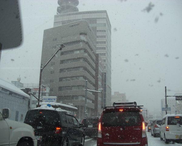 長野市は今日も大雪・・・